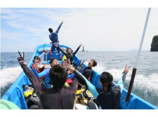 【北海道・積丹】積丹ブルーを満喫!ロウソク岩・ボートファンダイビング(2ダイブ)♪