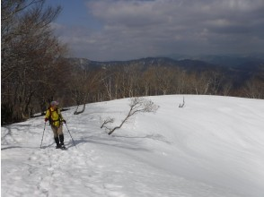 【滋賀・湖西】お気軽SnowTreck~起伏のなかで至福の時間を~(初級編・レンタル込み)