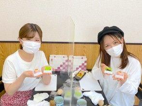 コロナ対策★少人数開催★国内外の著名人にも人気。新宿の名店で20年の職人に学ぶ、食べても美味しい美麗な和菓子作り