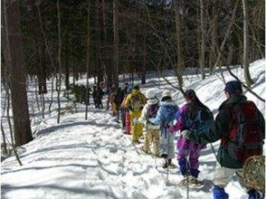 【長野・スノーシュー】冬しか見られない山の美しさを満喫。スノーシュー・かんじきトレッキング1日コースの画像