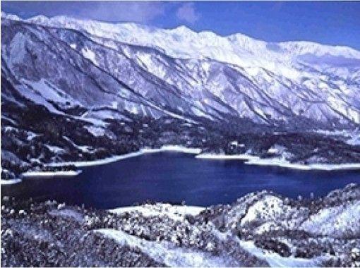 【長野・大町市 スノーシュー・かんじき】冬しか見られない北ア山麓の美しさを満喫!1日コース