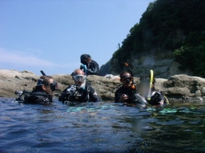Trial experience diving (Kinosaki course)