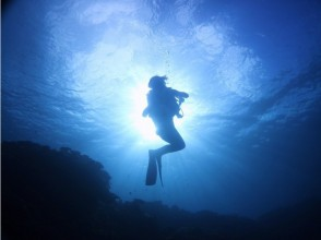 From Onna village 【From 8 years old · Okinawa · Blue cave】 Experience diving that can breathe with your nose ★ Equipment rental included 【No C card required】