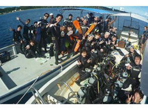 School trip OK [Okinawa Onna] experience diving (2 dives) ★ equipment rental included [deals students limited plan! ]