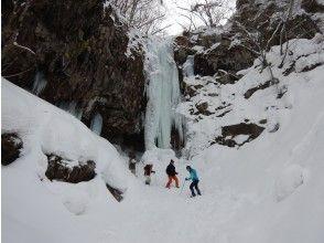 【山形 蔵王】氷爆見学スノーシューツアー 送迎付き
