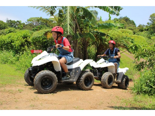 [Okinawa, Kunigami-gun] Experience a buggy in Higashi Village (northern pineapple village)! Yanbaru Adventure Farm @ Matayoshi Coffee Farm!の紹介画像