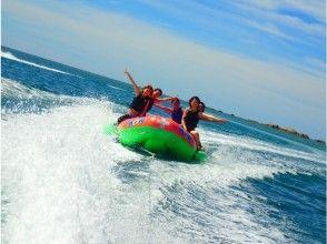【 沖縄 ·恩納村】2歲以上參加OK!香蕉船&藍色洞穴浮潛