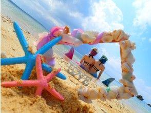 【 沖縄 ·恩納村】2歲以上參加OK!香蕉船和美人魚游泳