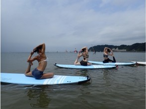[ Shonan -Zushi] SUP experience Tasu SUP Yoga luxury course of the (first direction only) [1 Sun ]
