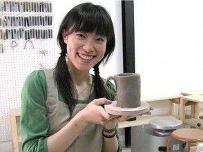 """[東京都從鉑]陶瓷""""Tebineri""""飯碗直到麵條菜!首先,手工體驗陶器!當天預約OK! OK空手!"""