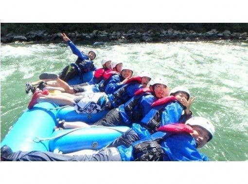 国内最長16km!!【長野・天竜川】天然温泉入浴券付き!ラフティング体験 ロングツアー