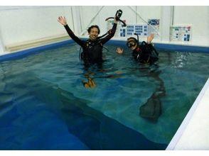 お試し体験ダイビング(店内プールコース)の画像