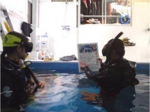 【兵庫・姫路】夜でも受付できます!水中撮影スクール付きシュノーケル体験(店内プールコース)