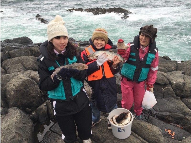 Sea fishing experience by hand [Hocke]の紹介画像