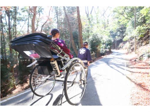 【三重・伊勢】大自然秘境スポットを完全プライベートで駆け抜ける人力車30分コース