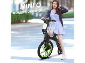【Delivered Anywhere】 Rent a mobile scooter MINIQ