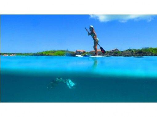 【鹿児島・与論島】SUPツアー(60分)与論の海をクルージング♪