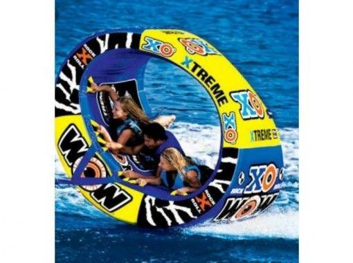 【鹿児島・与論島】遊び放題コース★ウェイクボード、SUP、トーイングチューブ(60分・120分)