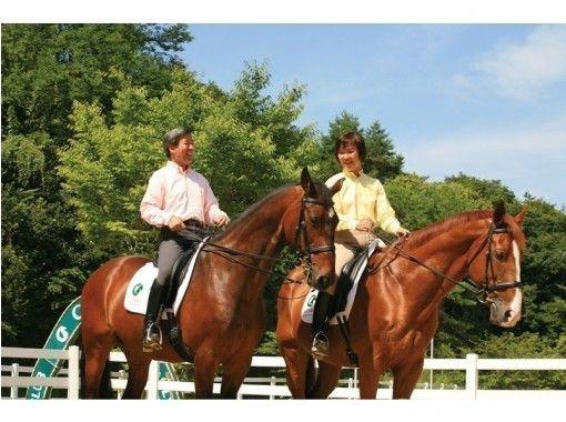 【奈良・御所】初めてでも安心!マンツーマンで乗馬体験(送迎あり)