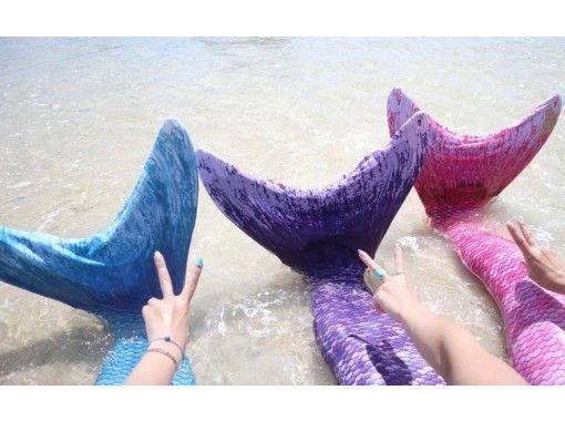 【鹿児島・与論島】女子旅にオススメ♥マーメイド撮影