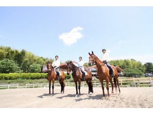 【山梨・小淵沢】初めてでも安心!マンツーマンで乗馬体験