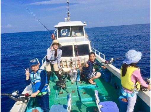 【名護・古宇利島 船釣り】 体験プラン(半日コース)   手ぶらでOK  ‼                  の紹介画像