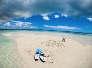 【沖縄・宮古島】SUPで行く幻の島(ゆにの浜)上陸ツアー