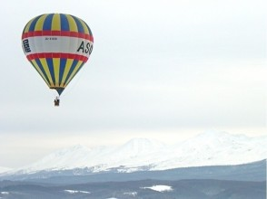 [Hokkaido Furano] image of hot air balloon free flight (20 minutes course / 30-minute course)