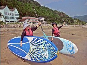【南国宮崎・サップ体験】プライベートビーチでSUPクルージング♪{期間限定}初心者歓迎!体験コース