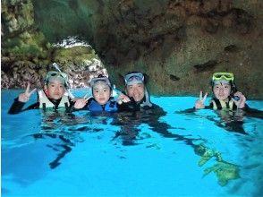 当天预约OK! Blue Cave Snorkel [冲绳 / 前田岬] GoPro 摄影&喂食免费提供英文指南! 9 月 30 日前包含寄宿费