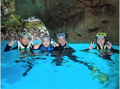 Same-day reservation is OK! Blue Cave Snorkel [Okinawa / Cape Maeda] GoPro Photographing & Feeding Free English Guide Available! HIS Super Summer Sale in progressの紹介画像