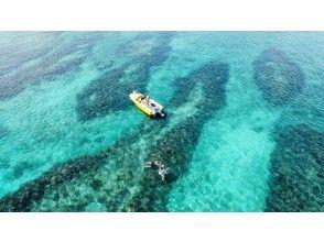 [Okinawa / Northern] The best location overlooking Kouri Island ♪♪ Boat snorkeling tour !!