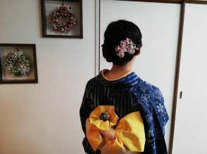 [Kyoto City] Kimono at your accommodation! ! Now it is a special delivery of 7,000 yen pairs! Home delivery dressing course