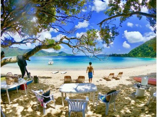 奄美北部で唯一船でしか行けない秘境のビーチで1日遊ぼう‼️コウトリビーチ1DAYプラン※お弁当1ドリンク付き