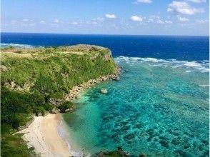 地域共通クーポン利用可!絶景!宮城島のパワースポット果報バンタ&シークレットビーチ上陸SUPツアー!