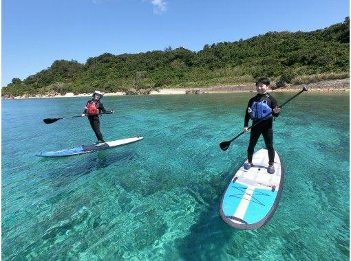 Popularity NO.1! God's Island, Hamhiga Island Cliffs & Secret Beach Landing SUP Tour!の紹介画像