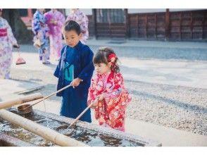 【奈良・奈良公園】旅の記念に可愛いお子様の着物姿を思い出に残しましょう!「キッズプラン」フルセットなので手ぶらでOK!