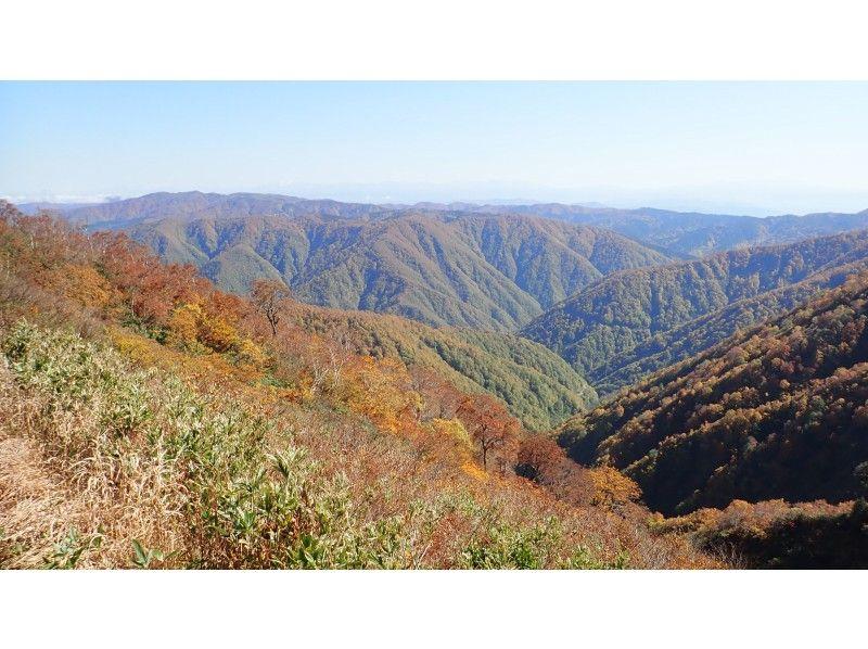 【富山県・南砺】秋は富山県西部の山が素晴らしい!五箇山トレッキングツアー/人形山プランの紹介画像