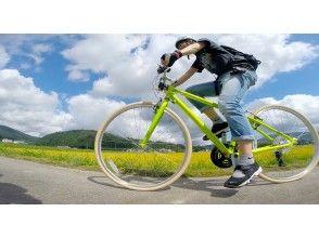 Go cross bike! Cycling tour to feel the wind