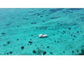 """""""HIS Super Summer Sale Now"""" [Okinawa Blue Cave] Blue Cave Snorkel & Clear Kayak Set Plan Going by Private Boat"""