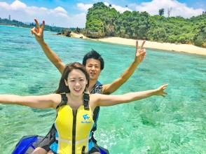 Regional common coupons can be used ♪ [Okinawa / Kouri Island] Experience with a secure charter for each group! Easy marine experience ♪ Classic Jet ski 15 minutes plan