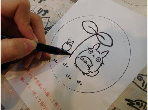 【長野・安曇野市】ガラスのお皿で「サンドブラスト体験」自由にイラストを描ける!の紹介画像