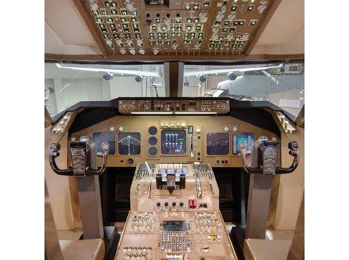 【千葉・成田】プライベートツアー・成田空港集合!コクピットでパイロット体験ツアー!