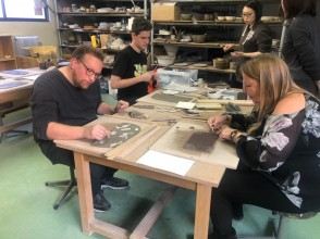 Ceramic Plate or cup Creating Workshop near Tokyo