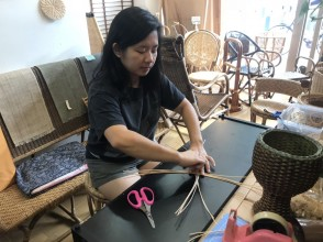 Rattan Weaving Experience in Saitama