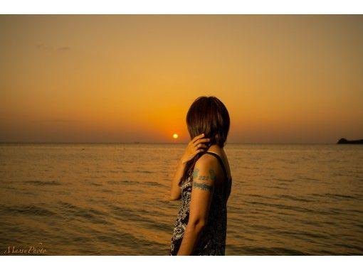 【沖縄・石垣島】石垣島の綺麗な夕日スポットでプロカメラマンがとっておきの写真を撮影します