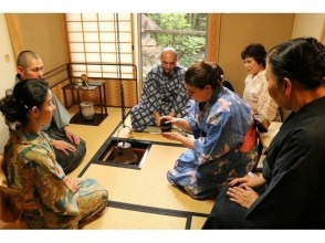 tea ceremony Experience by 91st Priest at a Temple