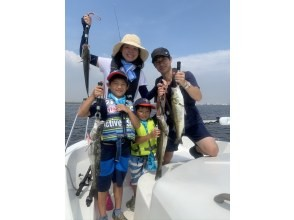 """[Asakusa Station. Kachidoki Station] Rest assured with a """"completely reserved"""" full lecture only for family and friends! Let's enjoy boat fishing easily! [Introduction of restaurants where you can bring in fish]"""