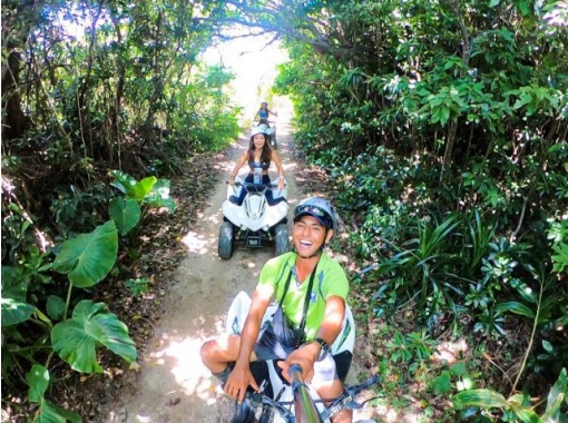 * Corona measures [Itoman, Okinawa] Jungle buggy experience! Safe with a guide! 4 years old ~ Participation OK, with banyan walk! 30 minutes from the airport, popular outdoorsの紹介画像