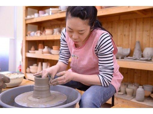 【埼玉・上尾】ホームセンターで気軽に陶芸「電動ろくろで器作り体験」初心者歓迎!の紹介画像